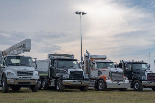 Freightliner Demo2 Charlotte Motor speedway