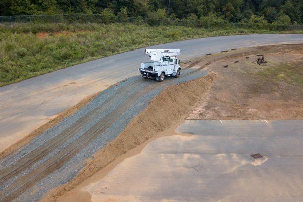 Freightliner demo 3 Charlotte Motor speedway